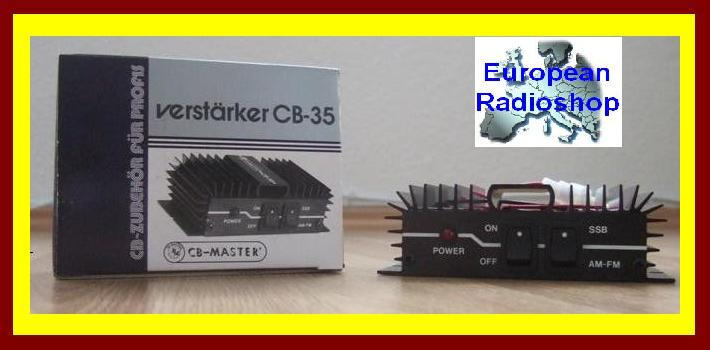 cb funk verst rker brenner 12 v max 60 watt fm am ssb neu. Black Bedroom Furniture Sets. Home Design Ideas