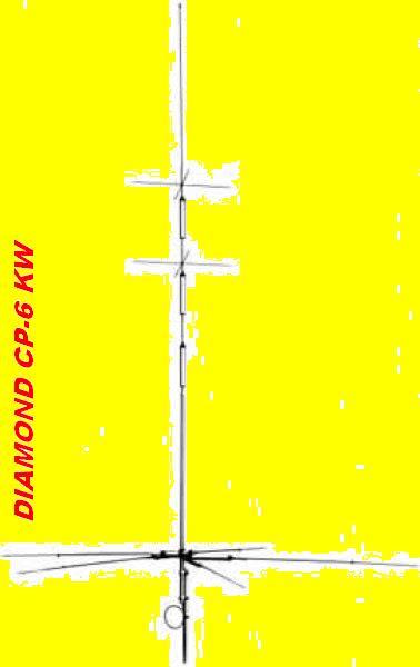 Diamond CP-6 KW/6-m Vertikal Antenne